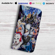 Gintama Yoshiwara Leather Wallet LG G2 G3 G4 Case