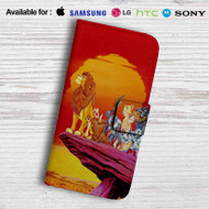 The Lion King Characters Disney Leather Wallet LG G2 G3 G4 Case
