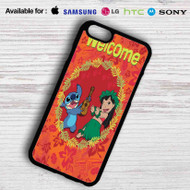 Disney Lilo and Stitch Welcome Samsung Galaxy Note 5 Case