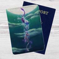 Pokémon Mewtwo Custom Leather Passport Wallet Case Cover