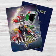 Voltron Force Custom Leather Passport Wallet Case Cover