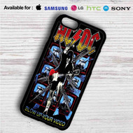 ACDC's Highway to Hell on your case iphone 4 4s 5 5s 5c 6 6plus 7 Samsung Galaxy s3 s4 s5 s6 s7 HTC Case