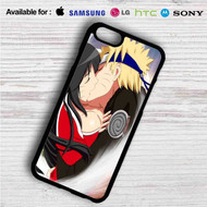 Ahri and Uzumaki Naruto Kiss on your case iphone 4 4s 5 5s 5c 6 6plus 7 Samsung Galaxy s3 s4 s5 s6 s7 HTC Case