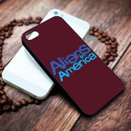 aliens in america on your case iphone 4 4s 5 5s 5c 6 6plus 7 case / cases