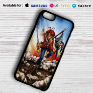 Helix The Trooper Iron Maiden on your case iphone 4 4s 5 5s 5c 6 6plus 7 Samsung Galaxy s3 s4 s5 s6 s7 HTC Case