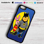 Pooh and Piglet Batman Robin on your case iphone 4 4s 5 5s 5c 6 6plus 7 Samsung Galaxy s3 s4 s5 s6 s7 HTC Case