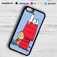 The Peanuts Snoopy and Family Guy on your case iphone 4 4s 5 5s 5c 6 6plus 7 Samsung Galaxy s3 s4 s5 s6 s7 HTC Case