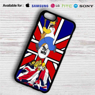 The Who Simpsons on your case iphone 4 4s 5 5s 5c 6 6plus 7 Samsung Galaxy s3 s4 s5 s6 s7 HTC Case
