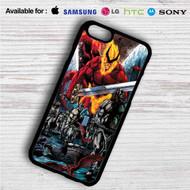 Thor Ragnarok Comic on your case iphone 4 4s 5 5s 5c 6 6plus 7 Samsung Galaxy s3 s4 s5 s6 s7 HTC Case