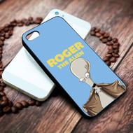 american dad alien roger on your case iphone 4 4s 5 5s 5c 6 6plus 7 case / cases