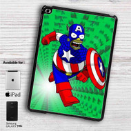 "Bart Simpson Captain America iPad 2 3 4 iPad Mini 1 2 3 4 iPad Air 1 2 | Samsung Galaxy Tab 10.1"" Tab 2 7"" Tab 3 7"" Tab 3 8"" Tab 4 7"" Case"