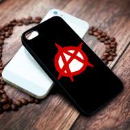 Anarchy symbol on your case iphone 4 4s 5 5s 5c 6 6plus 7 case / cases