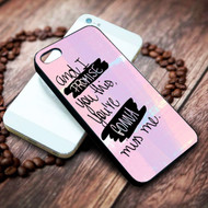 Andy Grammer lyric on your case iphone 4 4s 5 5s 5c 6 6plus 7 case / cases