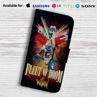 Fleet of Doom Voltron Custom Leather Wallet iPhone Samsung Galaxy LG Motorola Nexus Sony HTC Case