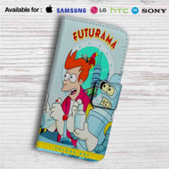 Futurama Volume One Custom Leather Wallet iPhone Samsung Galaxy LG Motorola Nexus Sony HTC Case
