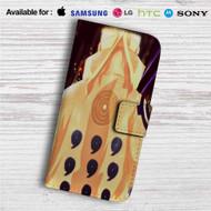 Naruto Shippuden Konoha Logo Custom Leather Wallet iPhone Samsung Galaxy LG Motorola Nexus Sony HTC Case