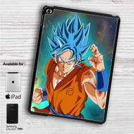 "Super Saiyan Blue Goku Dragon Ball Super iPad 2 3 4 iPad Mini 1 2 3 4 iPad Air 1 2   Samsung Galaxy Tab 10.1"" Tab 2 7"" Tab 3 7"" Tab 3 8"" Tab 4 7"" Case"