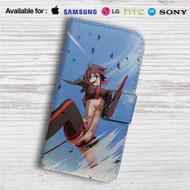 Ryuuko Kill La Kill Custom Leather Wallet iPhone Samsung Galaxy LG Motorola Nexus Sony HTC Case