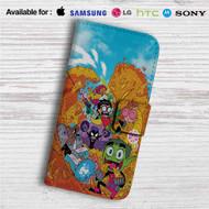 Teen Titans Go Custom Leather Wallet iPhone Samsung Galaxy LG Motorola Nexus Sony HTC Case