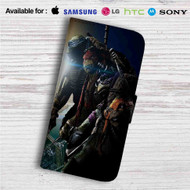 Teenage Mutant Ninja Turtles Out Of The Shadows Custom Leather Wallet iPhone Samsung Galaxy LG Motorola Nexus Sony HTC Case