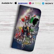 Voltron Force Custom Leather Wallet iPhone Samsung Galaxy LG Motorola Nexus Sony HTC Case