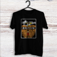 Dragon Ball Z X Attack on Titan Custom T Shirt Tank Top Men and Woman