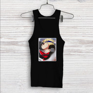 Ahri and Uzumaki Naruto Kiss Custom Men Woman Tank Top