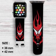 Gurren Lagann Custom Apple Watch Band Leather Strap Wrist Band Replacement 38mm 42mm