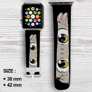 Hunter X Hunter Gon Freecs Custom Apple Watch Band Leather Strap Wrist Band Replacement 38mm 42mm