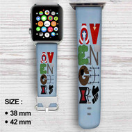 Marvel The Avengers Superheroes Custom Apple Watch Band Leather Strap Wrist Band Replacement 38mm 42mm