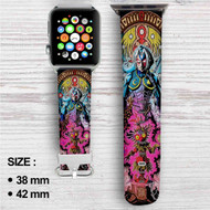 The Legend of Zelda Majora's Mask Custom Apple Watch Band Leather Strap Wrist Band Replacement 38mm 42mm