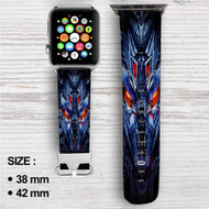 Transformers Megatron Custom Apple Watch Band Leather Strap Wrist Band Replacement 38mm 42mm