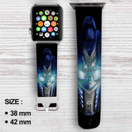 Transformers Optimus Prime Custom Apple Watch Band Leather Strap Wrist Band Replacement 38mm 42mm