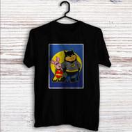 Pooh and Piglet Batman Robin Custom T Shirt Tank Top Men and Woman