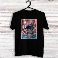 Rei Neon Genesis Evangelion Custom T Shirt Tank Top Men and Woman