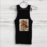 Digimon Raichi and Agumon Evolution Custom Men Woman Tank Top