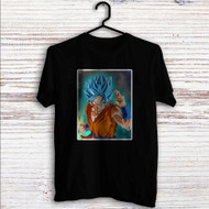Super Saiyan Blue Goku Dragon Ball Super Custom T Shirt Tank Top Men and Woman
