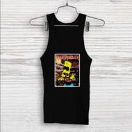 Iron Maiden The Simpsons Custom Men Woman Tank Top