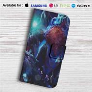 Bard League of Legends Custom Leather Wallet iPhone 4/4S 5S/C 6/6S Plus 7| Samsung Galaxy S4 S5 S6 S7 Note 3 4 5| LG G2 G3 G4| Motorola Moto X X2 Nexus 6| Sony Z3 Z4 Mini| HTC ONE X M7 M8 M9 Case