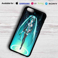 Hatsune Miku on your case iphone 4 4s 5 5s 5c 6 6plus 7 Samsung Galaxy s3 s4 s5 s6 s7 HTC Case