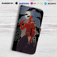 Daredevil Custom Leather Wallet iPhone 4/4S 5S/C 6/6S Plus 7| Samsung Galaxy S4 S5 S6 S7 Note 3 4 5| LG G2 G3 G4| Motorola Moto X X2 Nexus 6| Sony Z3 Z4 Mini| HTC ONE X M7 M8 M9 Case