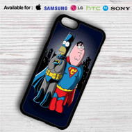 Homer Simpson Vs Peter Griffin on your case iphone 4 4s 5 5s 5c 6 6plus 7 Samsung Galaxy s3 s4 s5 s6 s7 HTC Case