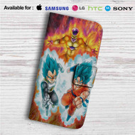 Goku Vegeta Freeza Dragon Ball Super Custom Leather Wallet iPhone 4/4S 5S/C 6/6S Plus 7| Samsung Galaxy S4 S5 S6 S7 Note 3 4 5| LG G2 G3 G4| Motorola Moto X X2 Nexus 6| Sony Z3 Z4 Mini| HTC ONE X M7 M8 M9 Case
