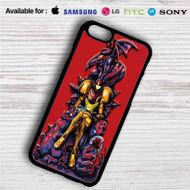 Samus Metroid on your case iphone 4 4s 5 5s 5c 6 6plus 7 Samsung Galaxy s3 s4 s5 s6 s7 HTC Case