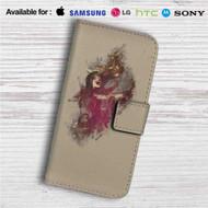 Jinx League of Legends Custom Leather Wallet iPhone 4/4S 5S/C 6/6S Plus 7  Samsung Galaxy S4 S5 S6 S7 Note 3 4 5  LG G2 G3 G4  Motorola Moto X X2 Nexus 6  Sony Z3 Z4 Mini  HTC ONE X M7 M8 M9 Case