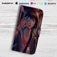 Life is Strange Custom Leather Wallet iPhone 4/4S 5S/C 6/6S Plus 7  Samsung Galaxy S4 S5 S6 S7 Note 3 4 5  LG G2 G3 G4  Motorola Moto X X2 Nexus 6  Sony Z3 Z4 Mini  HTC ONE X M7 M8 M9 Case