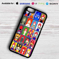 Super Mario No Face on your case iphone 4 4s 5 5s 5c 6 6plus 7 Samsung Galaxy s3 s4 s5 s6 s7 HTC Case