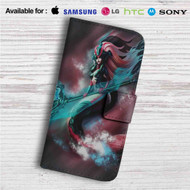 Nami League of Legends Custom Leather Wallet iPhone 4/4S 5S/C 6/6S Plus 7| Samsung Galaxy S4 S5 S6 S7 Note 3 4 5| LG G2 G3 G4| Motorola Moto X X2 Nexus 6| Sony Z3 Z4 Mini| HTC ONE X M7 M8 M9 Case