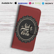 Nuka Cola Custom Leather Wallet iPhone 4/4S 5S/C 6/6S Plus 7| Samsung Galaxy S4 S5 S6 S7 Note 3 4 5| LG G2 G3 G4| Motorola Moto X X2 Nexus 6| Sony Z3 Z4 Mini| HTC ONE X M7 M8 M9 Case