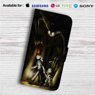 Over the Garden Wall Custom Leather Wallet iPhone 4/4S 5S/C 6/6S Plus 7  Samsung Galaxy S4 S5 S6 S7 Note 3 4 5  LG G2 G3 G4  Motorola Moto X X2 Nexus 6  Sony Z3 Z4 Mini  HTC ONE X M7 M8 M9 Case